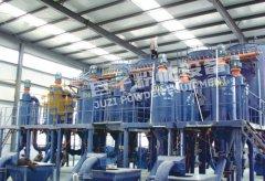 新疆(jiang)碳化 粉碎分級系統